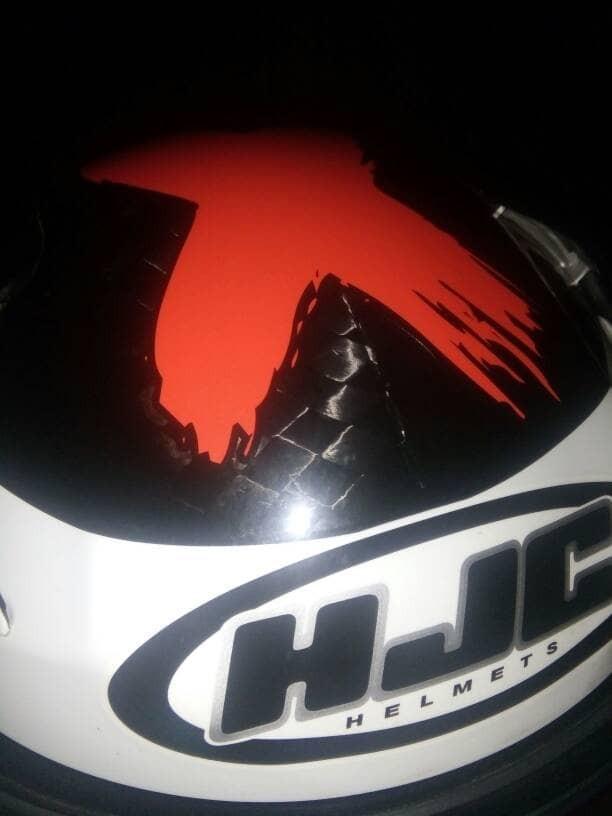 Helm HJC RPHA 10+ plus Carbon Lorenzo !! 3