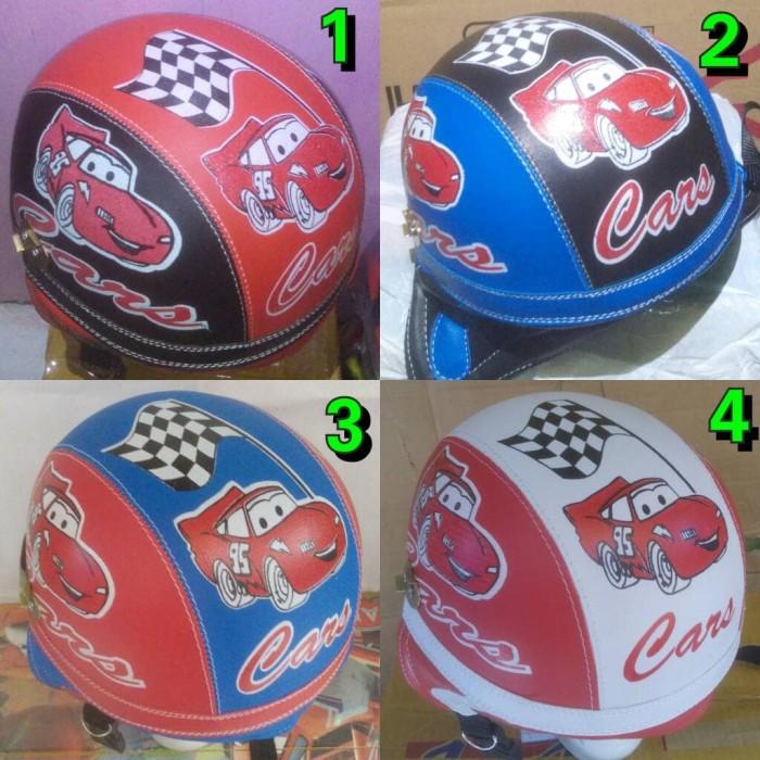 harga Helm anak chip retro cars Tokopedia.com