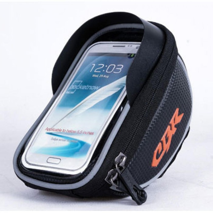 harga Cbr smartphone holder sepeda ultra sensitive touch screen wat hitam om Tokopedia.com