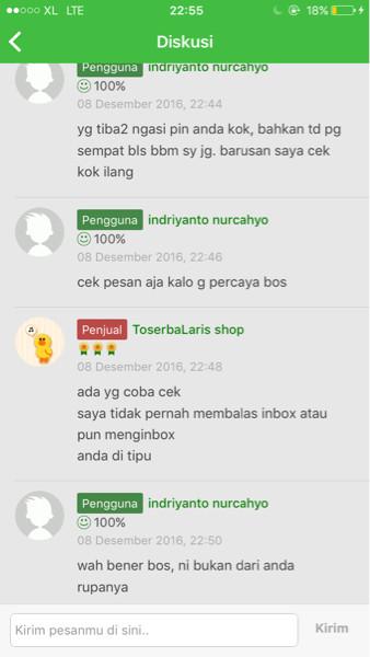 Jual Hati Hati Penipuan Kab Demak Sammy Jaya Shop Tokopedia