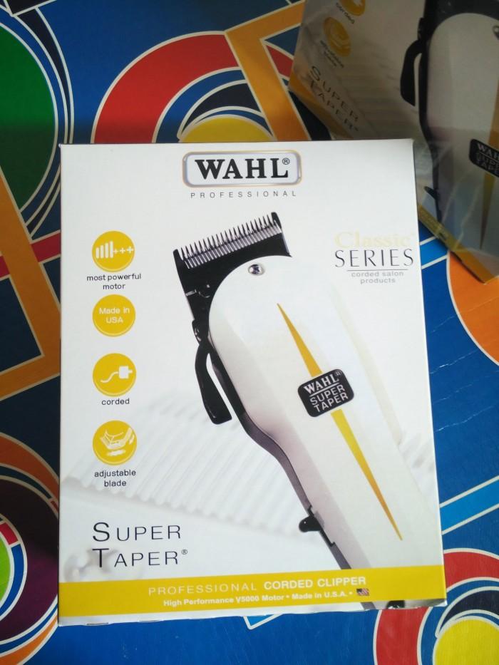 Jual WAHL SUPER TAPER ORIGINAL 100% USA - MESIN CUKUR RAMBUT WAHL ... 0ffd508d31