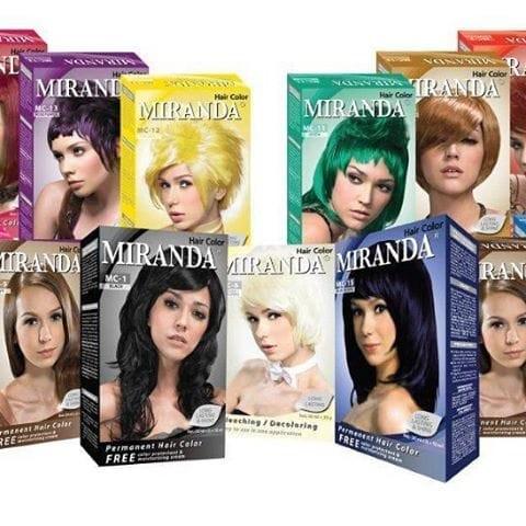 Jual Miranda Hair Color Pewarna Rambut Bleach dfc9b194d3