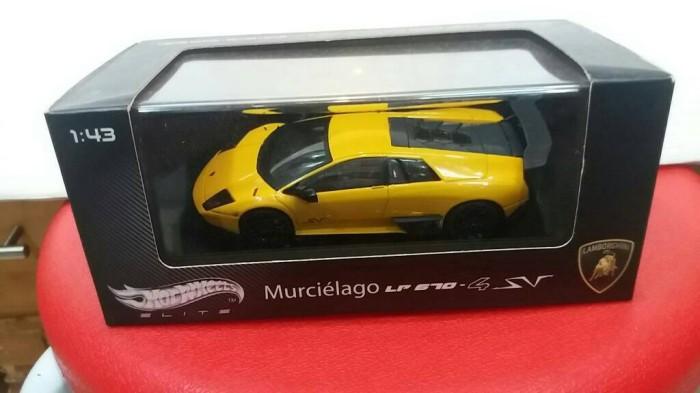 Jual Hot Wheels Elite Lamborghini Murchielago Lp 670 4 Sv Kuning