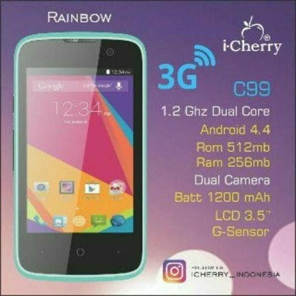 HP Android Icherry C99 Rainbow 3G