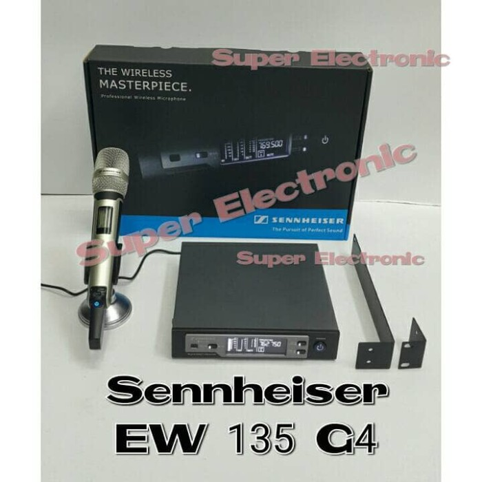 harga Mic wireless sennheiser ew 135 g4 wireless microphone multichannel Tokopedia.com