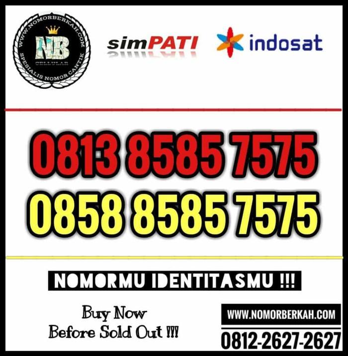 NOMOR CANTIK PASANGAN ABABCDCD 8585 7575 COUPLE 2 OPERATOR SIMPATI IM3