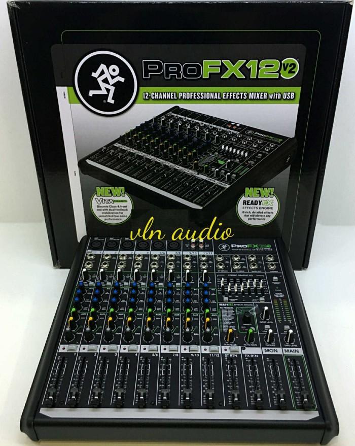 harga Mixer mackie pro fx12v2/profx 12v2 (original)8 Tokopedia.com