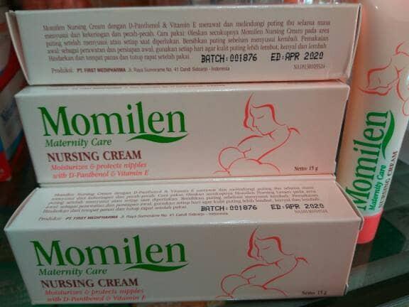 harga Momilen nursing cream 15 gr Tokopedia.com