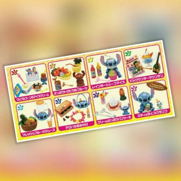 harga Re-ment stitch dessert set of 8 Tokopedia.com