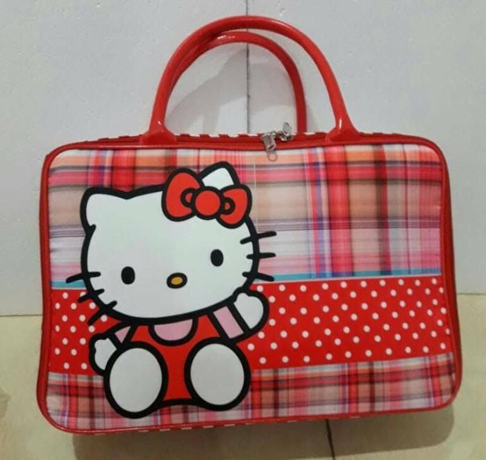 e3e92c11ed67 Jual Tas Travel Bag Hello Kitty Bagus dan Murah - Kota Medan - MOS ...