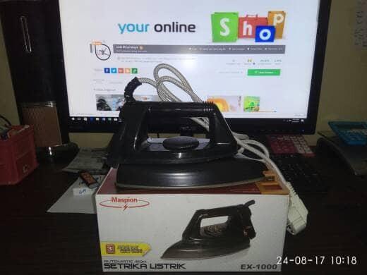 harga Setrika listrik maspion ex 1000 / automatic iron ex 1000 Tokopedia.com