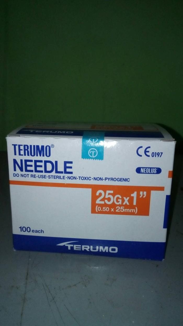 Jual Terumo needle 25Gx1