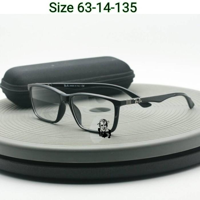 c29ef6d905 Frame Kacamata Rb8395 Black Gloss Kacamata Rayban Carbon Kacamata Pria