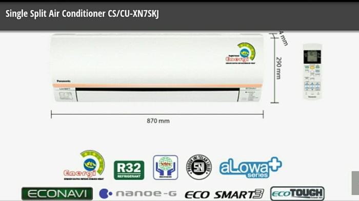 AC Panasonic 075pk Envio Low Watt Type CS XN 7 SKJ