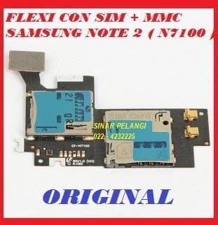 FLEKSI SAMSUNG N7100 NOTE 2 CONNECTOR  SIM CARD MEMORY MICRO SD 701688