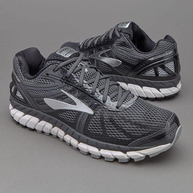 48ef76539e7 Jual Sepatu Lari Brooks Beast 16 Anthracite Black Silver - Kab ...