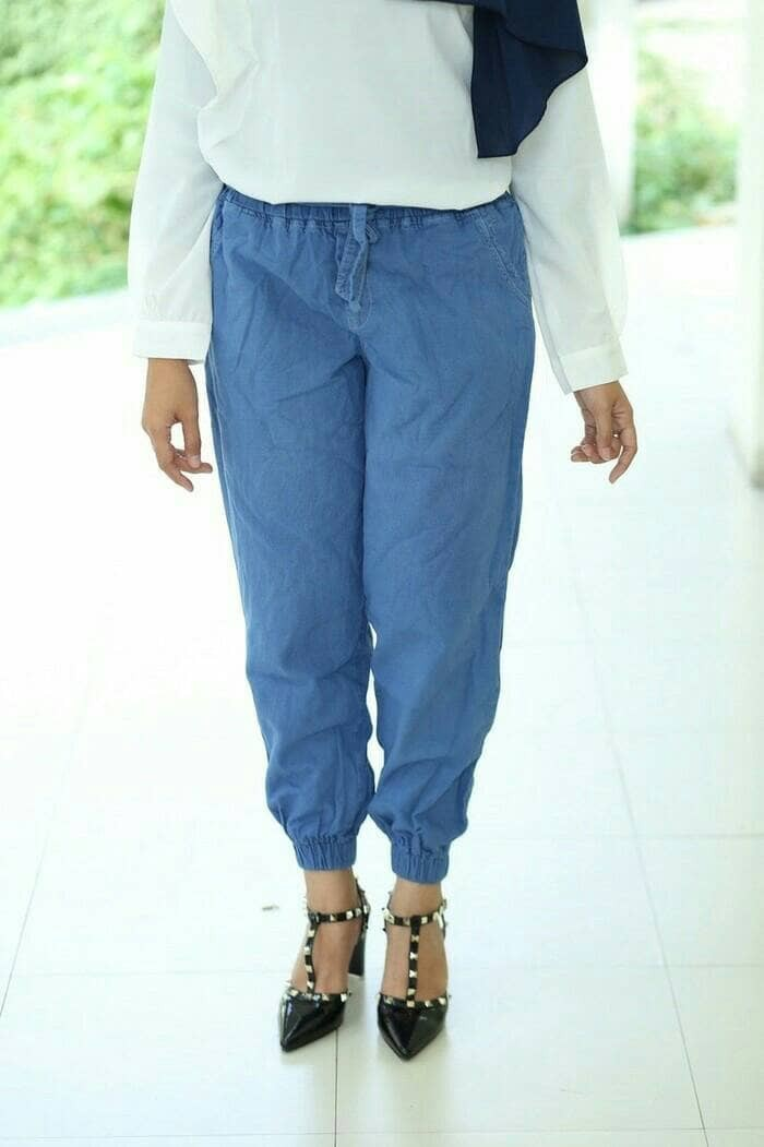 harga Joger jeans wanita / celana jogger cewek Tokopedia.com