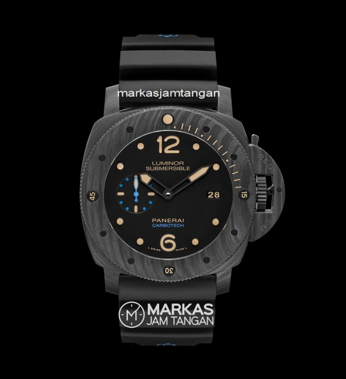 harga Jam tangan pria luminor panerai submersible pam616 carbotech automatic Tokopedia.com