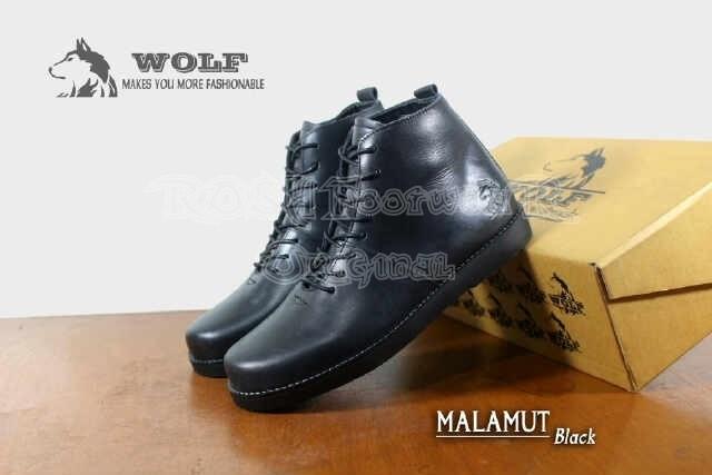 Jual Sepatu Wolf Malamute Casual Kulit Asli Full Up Brodo Pria ... 1cb9445aef