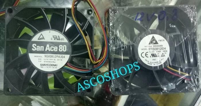 harga Kipas fan panel high speed 8 x 8cm 12v dc ball bearing 12 volt kencang Tokopedia.com
