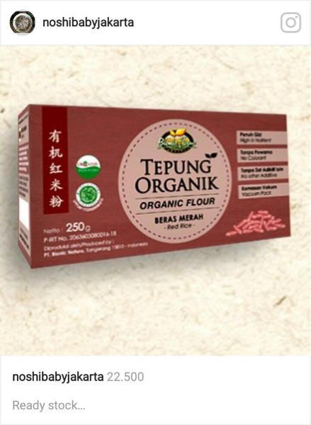 harga Tepung beras merah bionicfarm Tokopedia.com