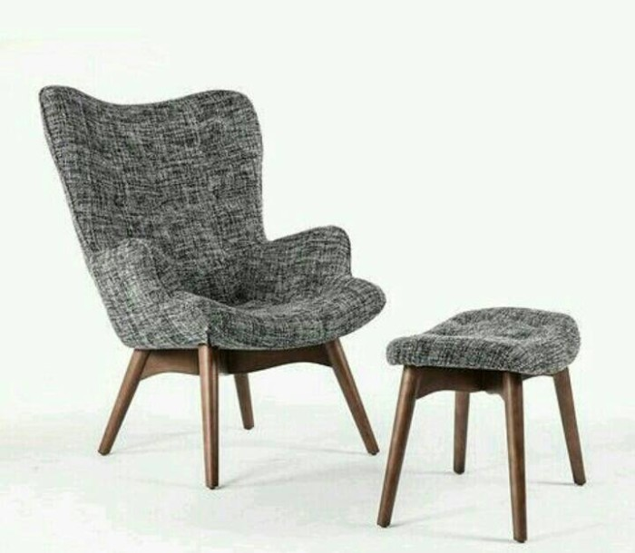 Foto Produk kursi sofa retro , kursi santai + stoll , kursi vintage dari best furniture jepara