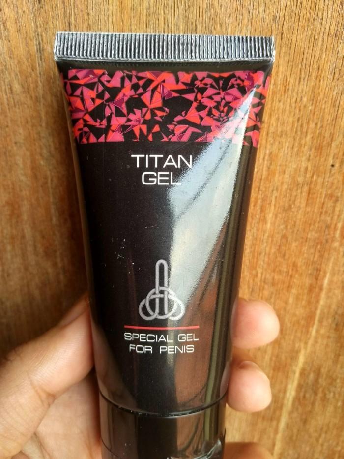 jual bpom titan gel cream intim untuk pria mbr store tokopedia