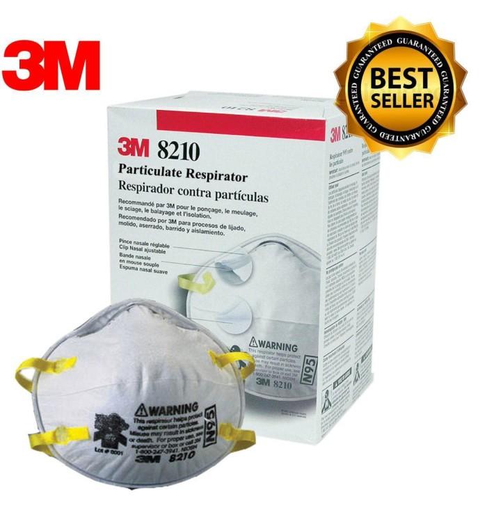 harga Masker 3m 8210 n95 respiratory (masker industri, debu) @20pcs/box Tokopedia.com