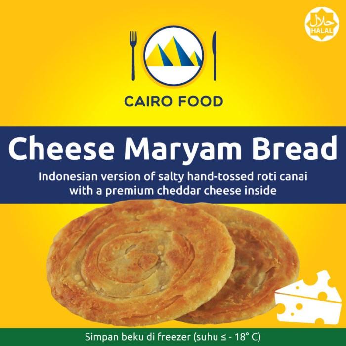 harga Roti maryam keju / roti cane canai cheese - cairo food Tokopedia.com