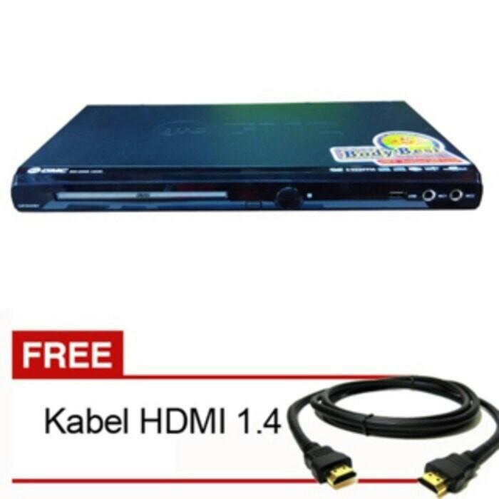 harga Gmc bm 088 b dvd player hdmi karaoke alat pemutar kaset cd dvd vcd mp3 Tokopedia.com