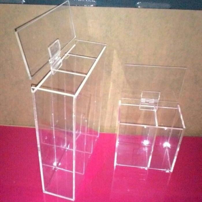 harga Acrylic akrilik 1 set tempat alat make up (kuas pensil alis dll) Tokopedia.com