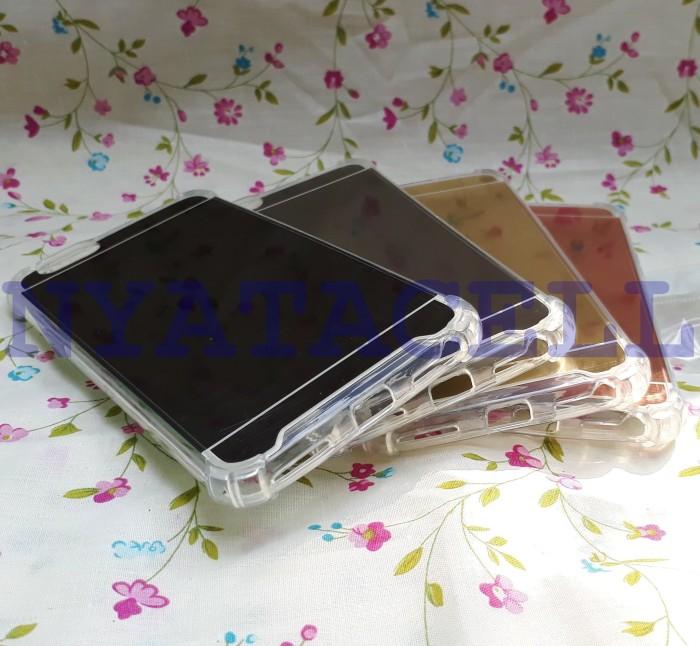 Case Anticrack Mirror Fiber Oppo F1S A59 /Anti Crack Knock Sho Diskon