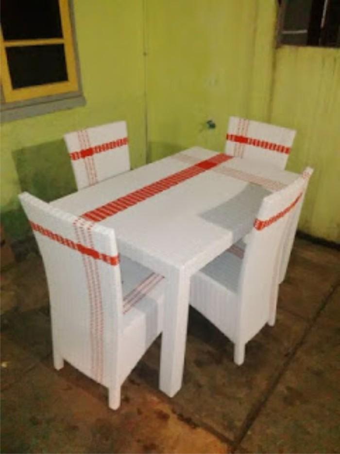 harga Kursi meja makan rotan hawai cantik murah Tokopedia.com