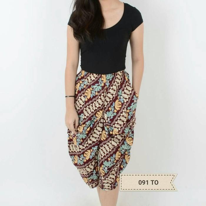 Jual Dress Atasan Blouse Baju Celana Batik Wanita Modern Tobita Fs Pants Dki Jakarta Lavela Id Tokopedia