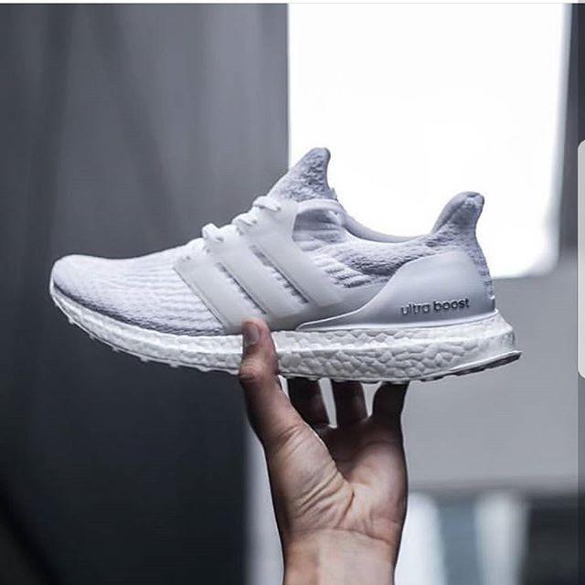 630c81a22 Jual Adidas Ultra Boost 3.0 Triple White Premium Original   sepatu ...