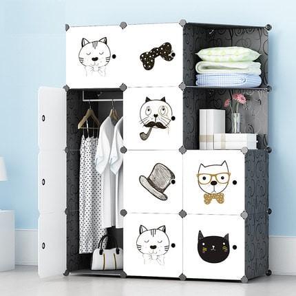 harga Lemari baju plastik besi anti air storage furniture gantung Tokopedia.com