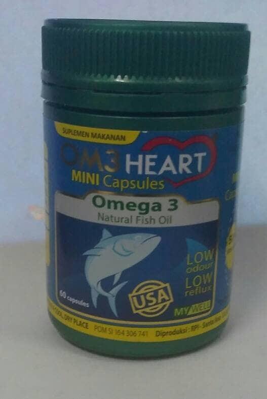 harga Om3 heart / ome heart 60 kapsul Tokopedia.com