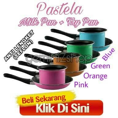 Pastela fry n milk pan set maspion