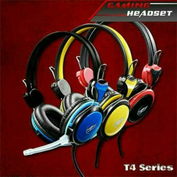 harga Headphone/headset gamming warwolf t4 series Tokopedia.com
