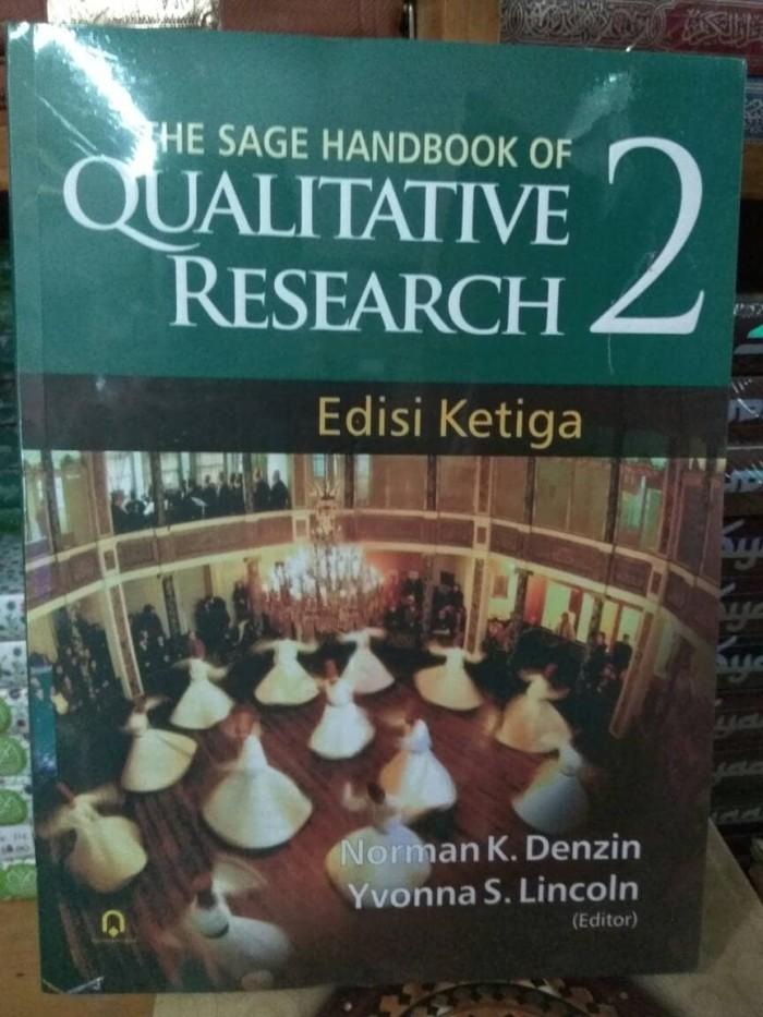 harga The sage handbook of qualitative research jilid 2 Tokopedia.com