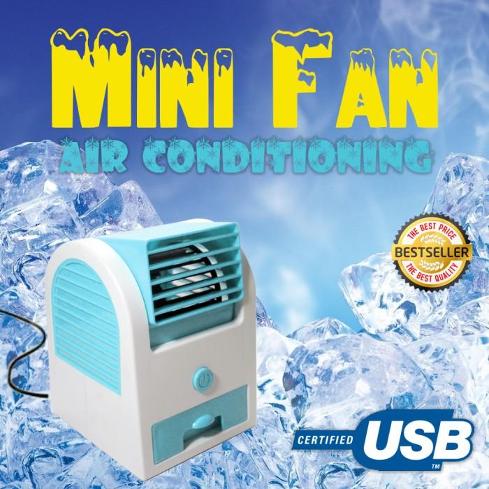 harga Ac mini usb portable double blower / kipas angin / ac mini fan Tokopedia.com