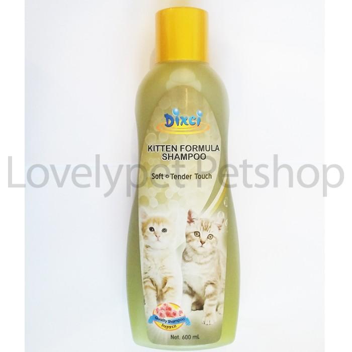 harga Dixci Kitten Formula Shampoo 600ml / Shampo Anakan Kucing Tokopedia.com