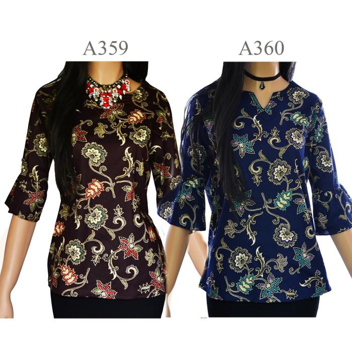 harga Kemeja blouse atasan batik blus a359a360 Tokopedia.com