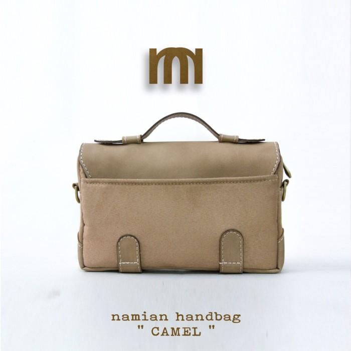 Tas Wanita Selempang Handbag Sling Bag Cewek Multifungsi Namian Camel Blanja .