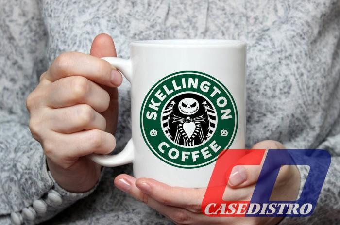harga Gelas mug desain jack skellington starbucks coffee halloween Tokopedia.com