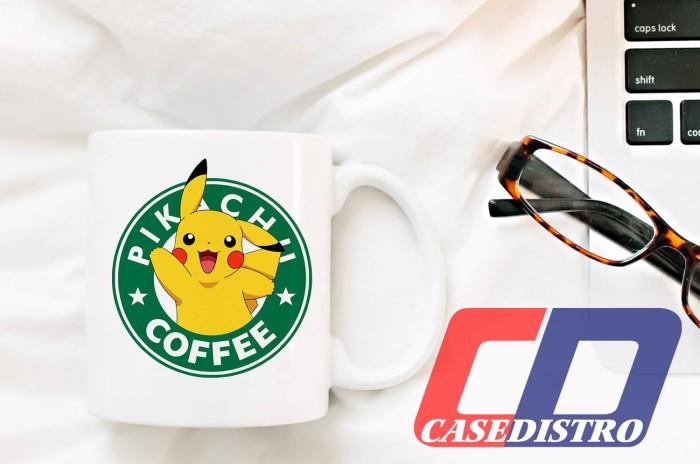 harga Gelas mug desain lucu pikachu pokemon starbucks coffee logo Tokopedia.com