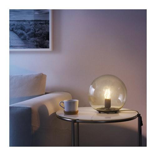 harga Lampu meja kamar tidur ruang tamu ikea fado vintage cantik klasik kaca Tokopedia.com