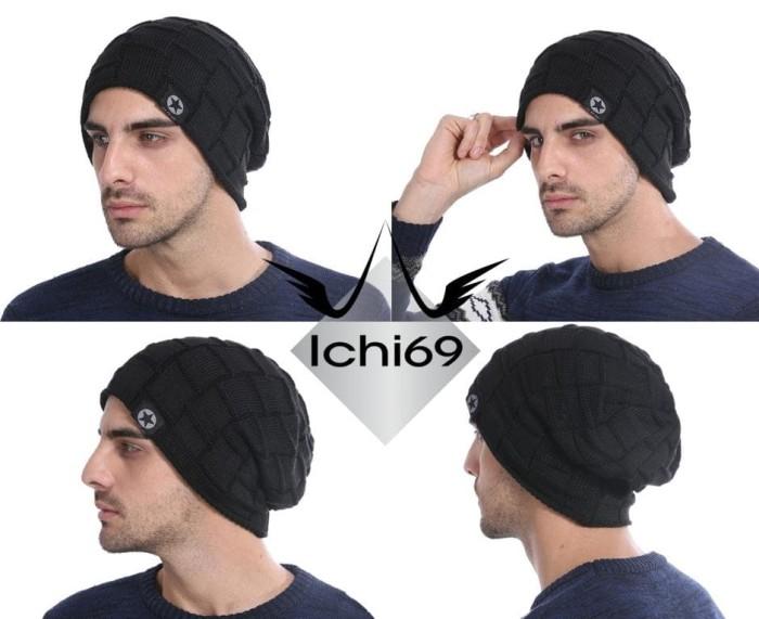 harga Topi beanie winter hat kupluk casual fashion import 02 Tokopedia.com
