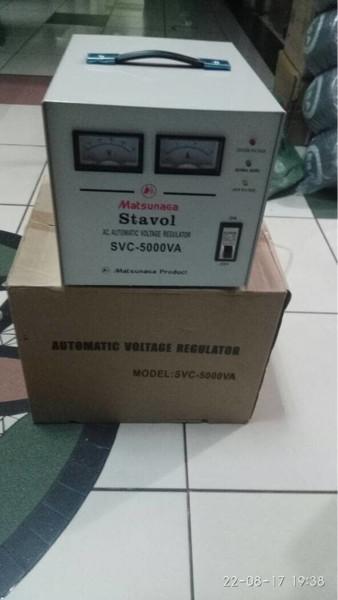 harga Stabilizer matsunaga 5000w stavol svc - 5000 n stabilizer 5000 watt Tokopedia.com