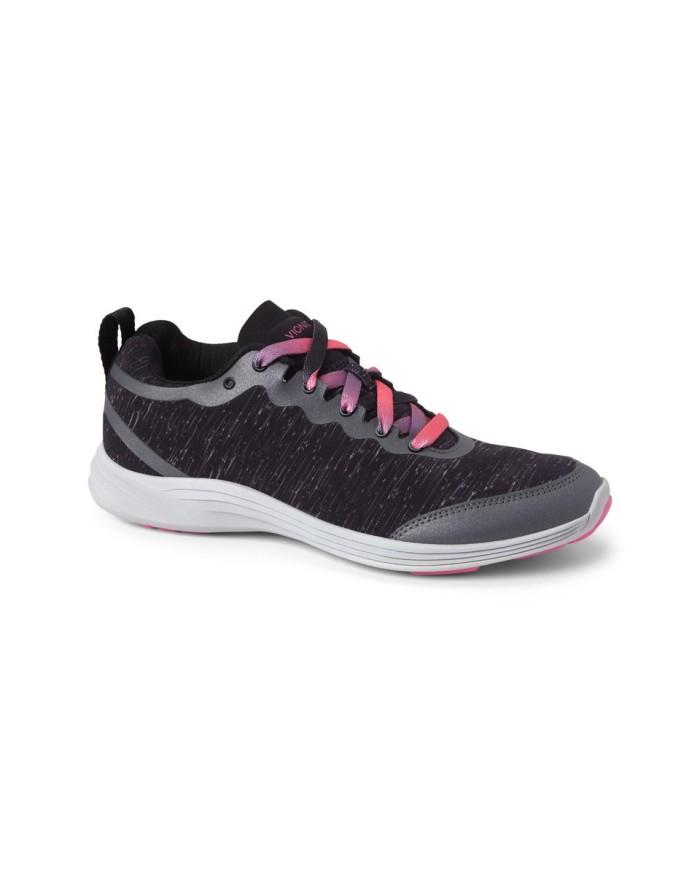 vionic fyn black sepatu olahraga wanita - hitam 37